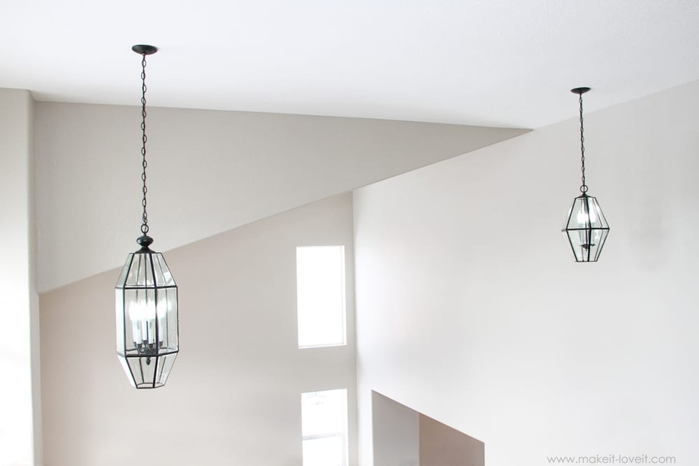Home Improvement: Painting Old Chandeliers and Light Fixtures ...