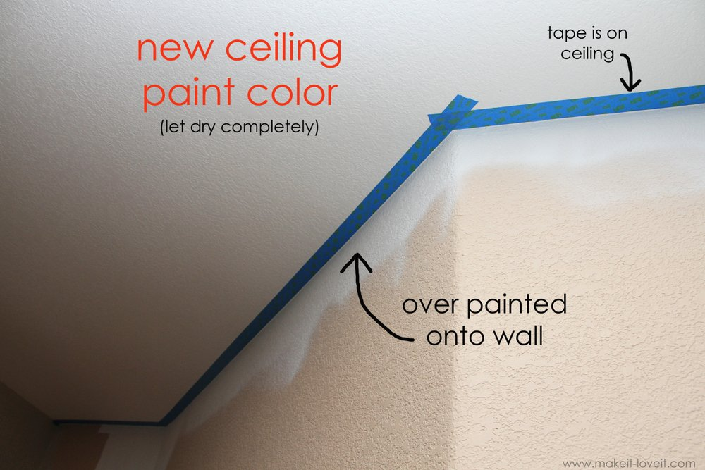 Home Improvement Painting A Straight Line On Textured Walls A Pro Painter 39 S Secret Make It