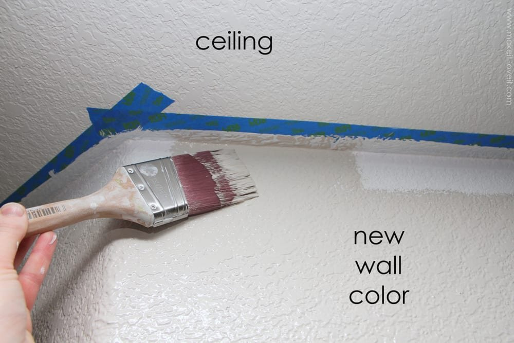 Home Improvement Painting A Straight Line On Textured