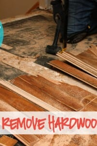 Home Improvement: How To REMOVE Hardwood Floors