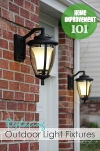 Home Improvement: Replacing Outdoor Light Fixtures (don't be scared!!)