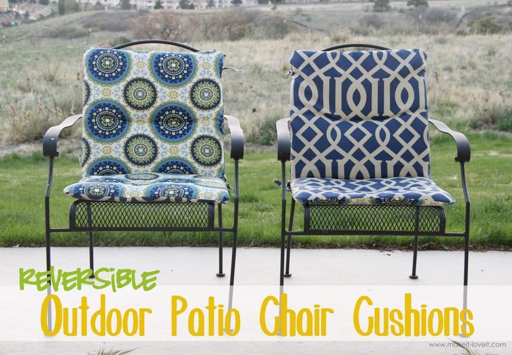 Goodbye Old Seat Cushionsu2026..HELLOOOOOO New Ones!!! Patio Chair Cushions