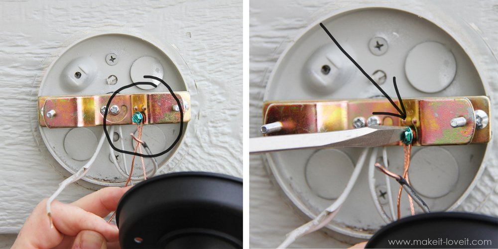 Home Improvement Replacing Outdoor Light Fixtures Don T