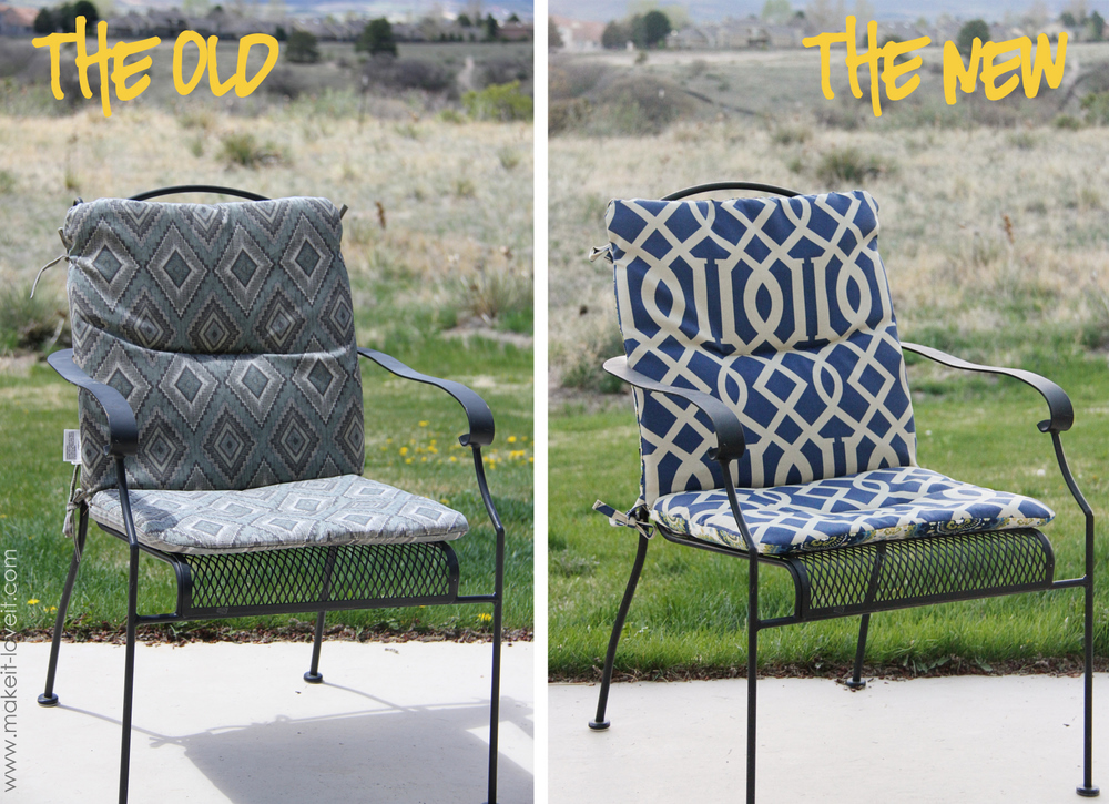 Inspirational patio chair cushions