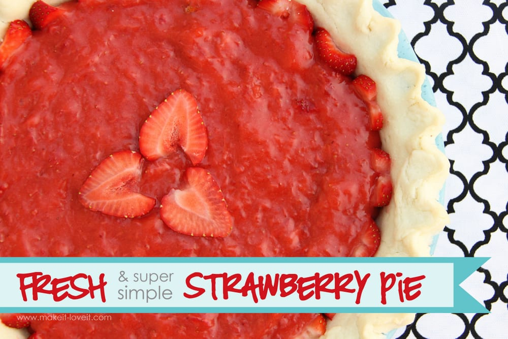 FRESH and SUPER SIMPLE Strawberry Pie Filling (only 3 ingredients ...