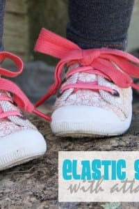 Turn Lace-Up Shoes to SLIP-ON's (with Elastic Shoelaces and an Attached Bow)