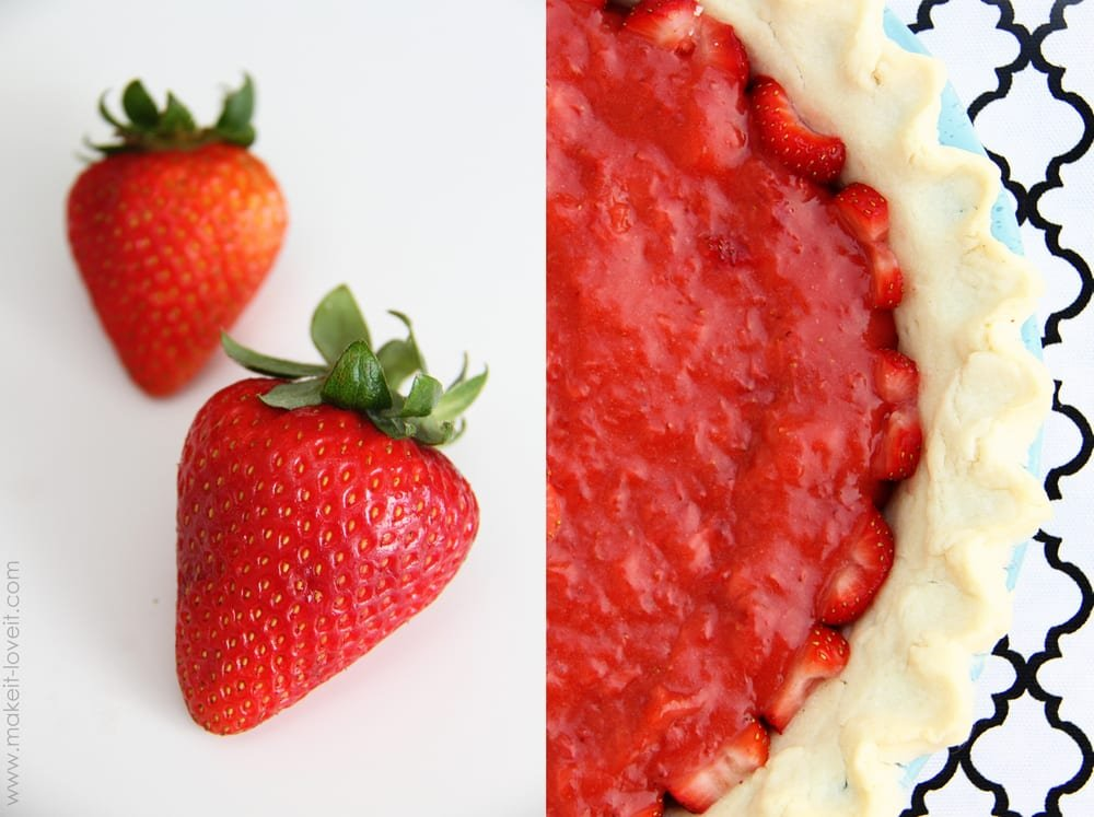 fresh strawberry pie-001
