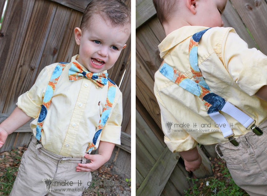 little boy suspenders