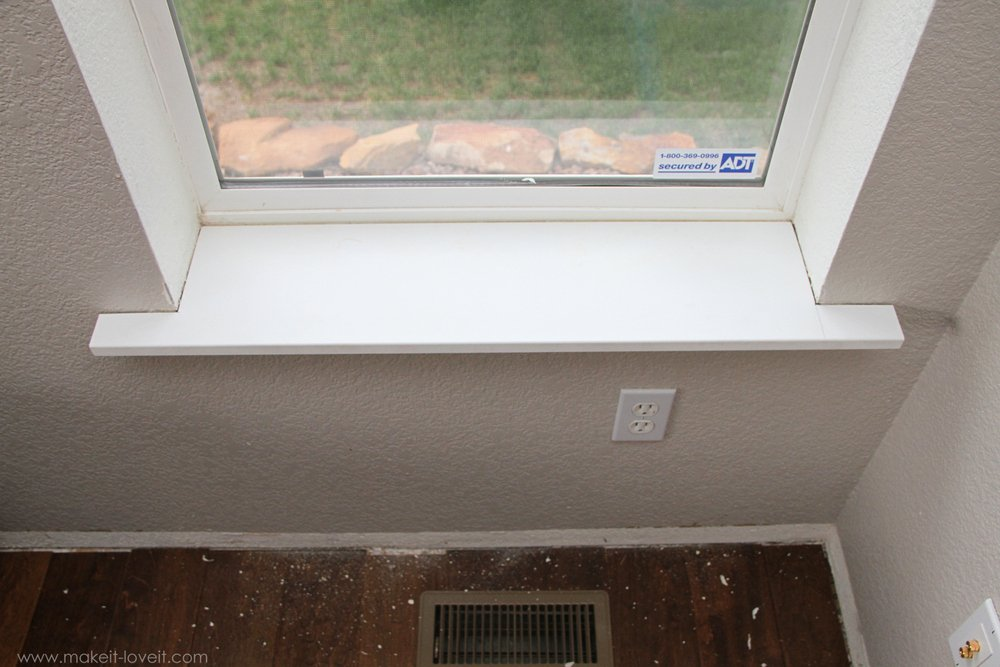 Pics for interior window sills for Window sill replacement