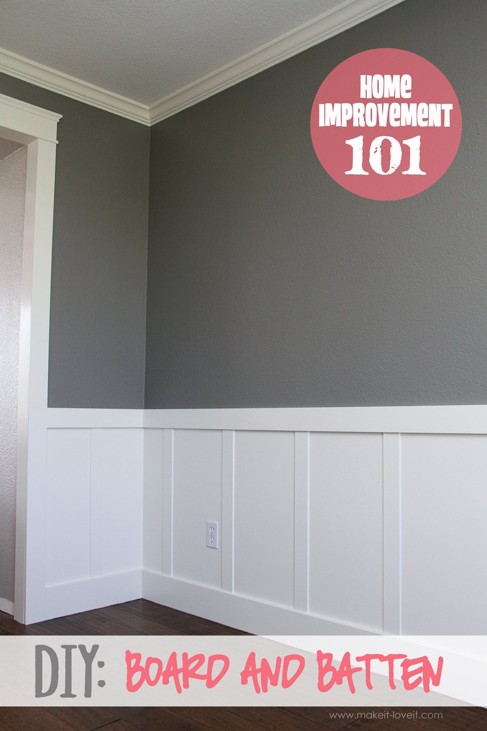Home Improvement DIY Board And Batten - Board and batten dining room