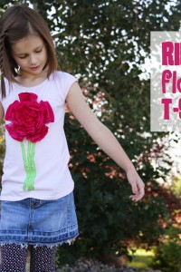 Big ol' Puffy Ribbon Flower Tshirt (yeah....crazy name!)