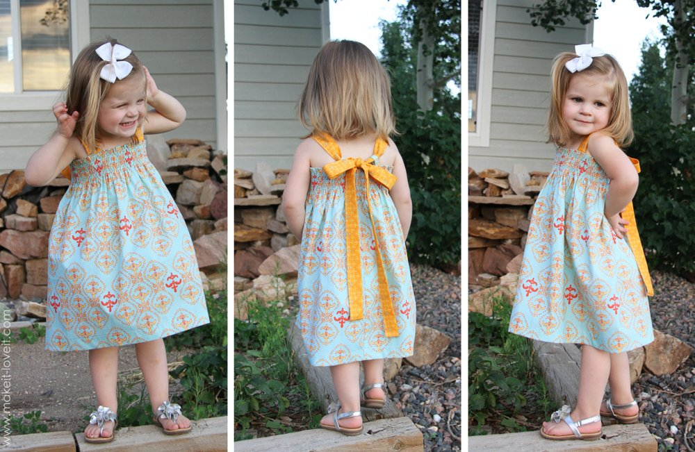 chloe shirred summer dress