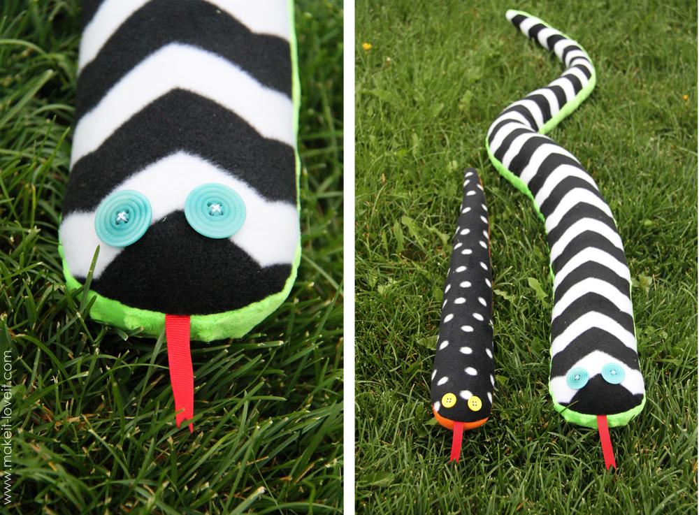 stuffed snake