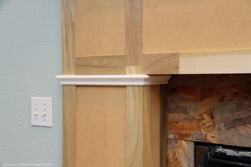 Home Improvement Build your own Fireplace Mantel Hearth