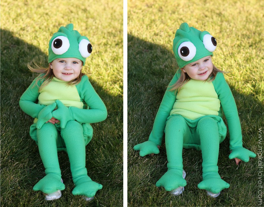diy pascal costume tangled