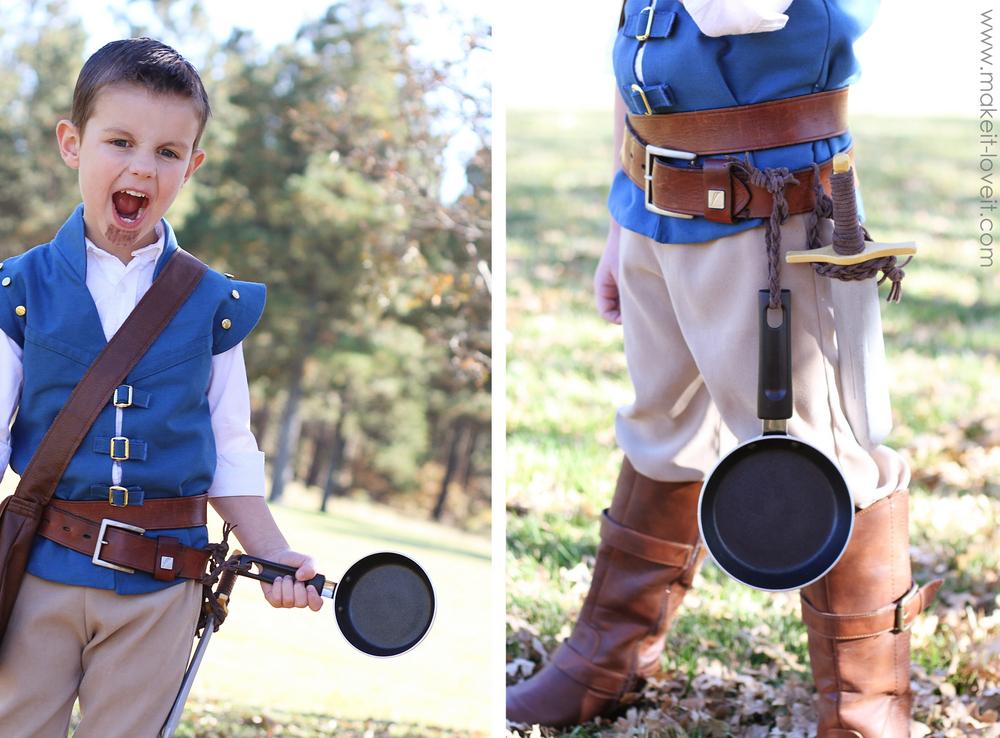 flynn rider costume DIY