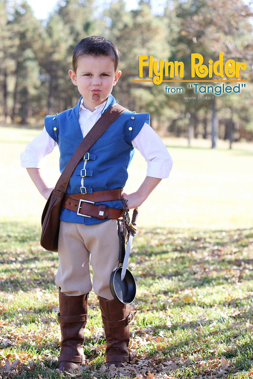flynn rider costume