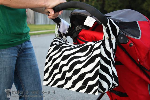10 2 in 1 stroller bag