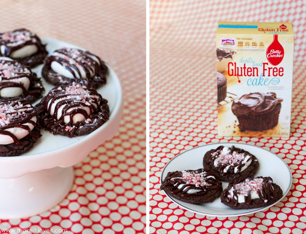 gluten free chocolate marshmallow cookies