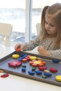 Magnetic Pattern Blocks {{great for home & TRAVEL}}
