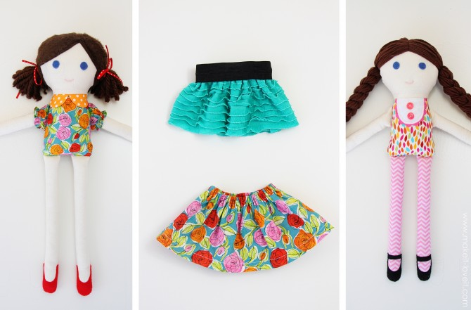 1 Fabric Doll Pattern
