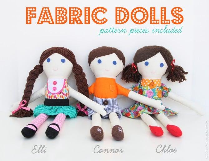 1 Fabric Dolls