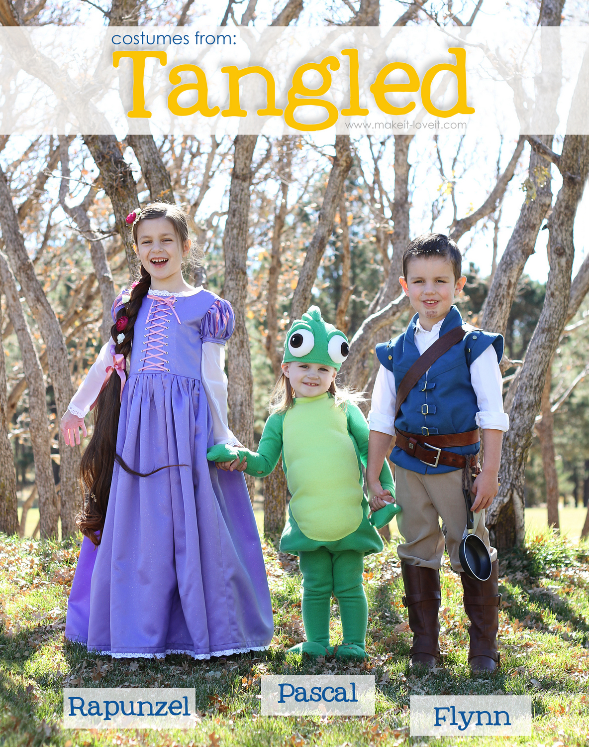 1 Tangled Costumes