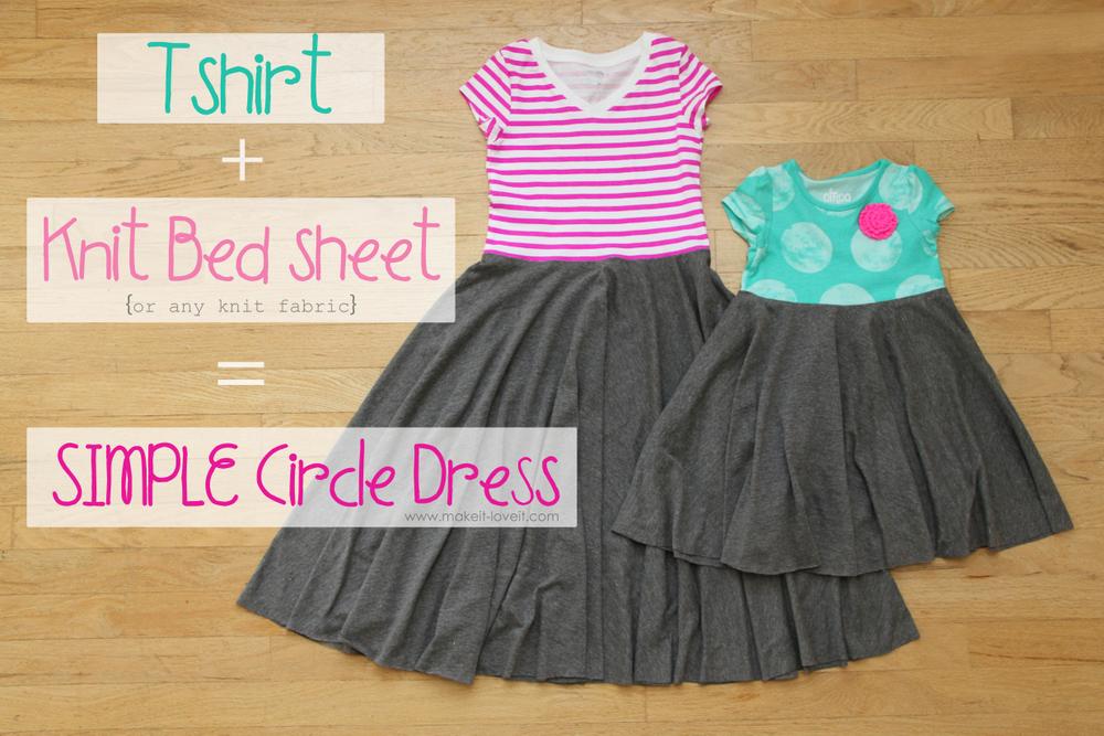 1 simple circle dress