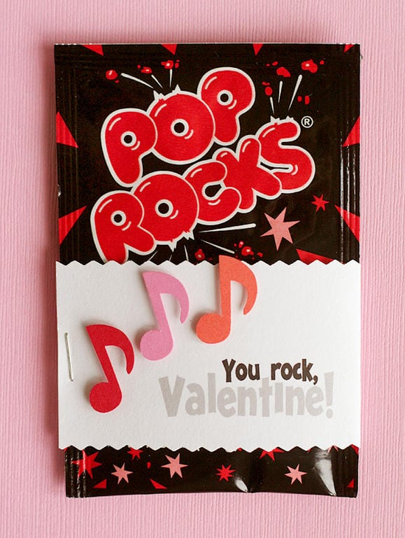 40 DIY Valentines Day Card Ideas for kids – Candy Valentine Card