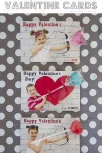 Personalized Valentine Cards...with a little treat!
