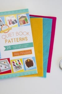 Book Review: Quiet Book Patterns (and 3 to give away!!)...CLOSED