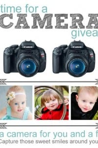 Time to WIN DOUBLE: a DSLR camera for You and for a Friend! ...CLOSED...