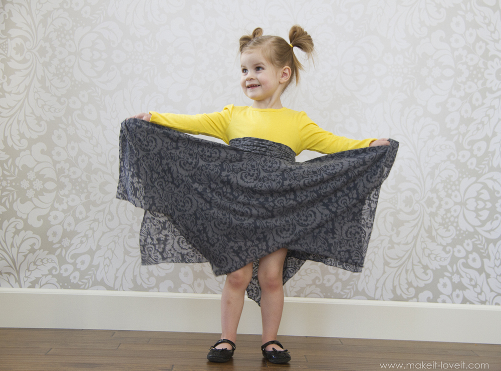 double layer square circle skirt3