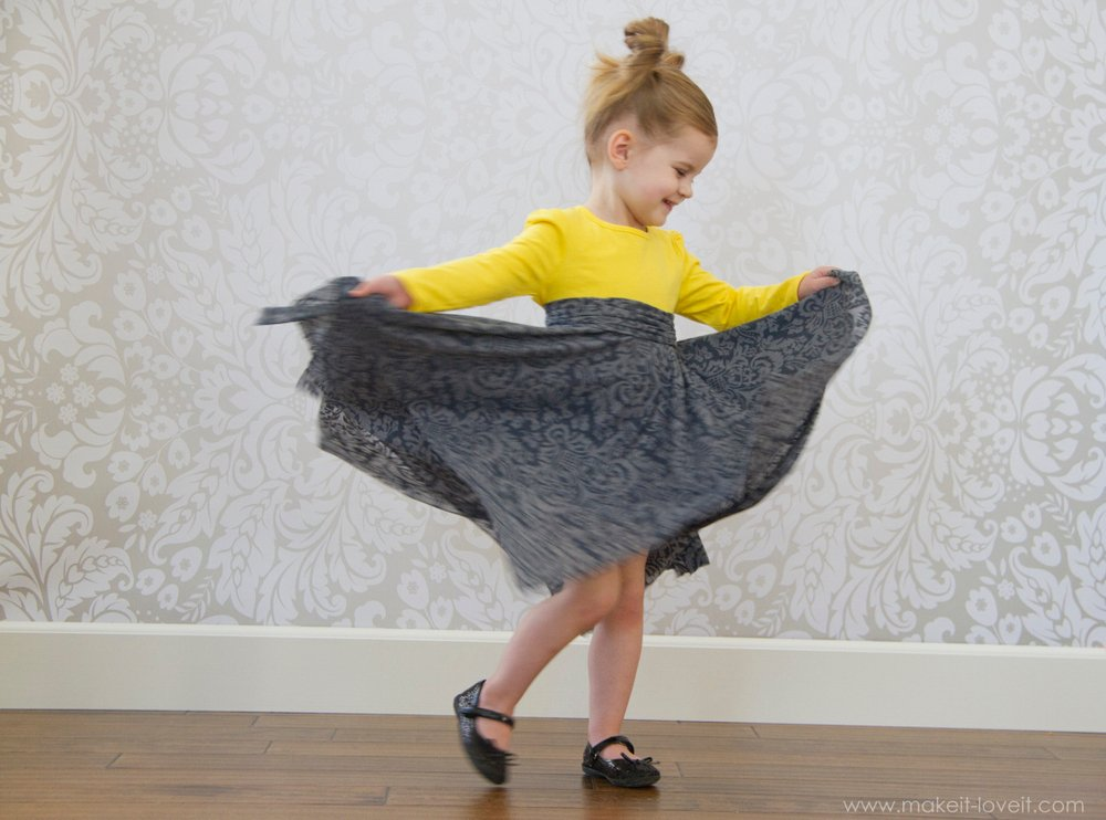double layer square circle skirt4