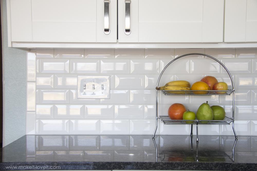 How To Re Tile Kitchen Backsplash
