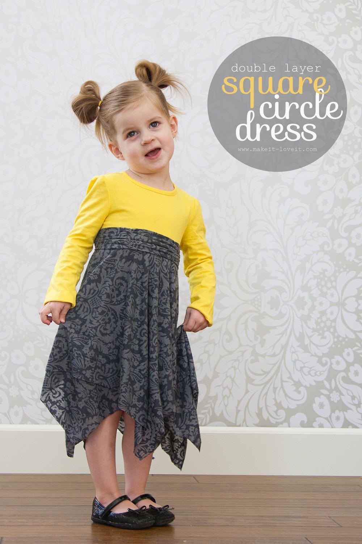 square circle dress