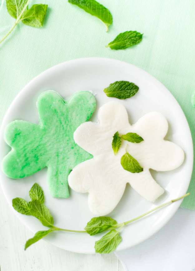 mint shamrocks