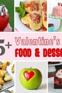 25+ Valentine's Day Food and Dessert Ideas.....YUM! --- Make It and Love It