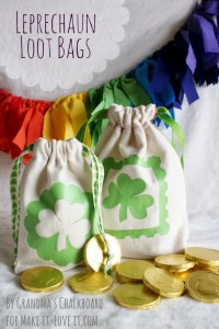 DIY Leprechaun Loot Bags ...for St Patrick's Day (or any other occasion)