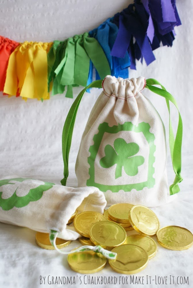 DIY Leprechaun Loot Bags --- Make It and Love It