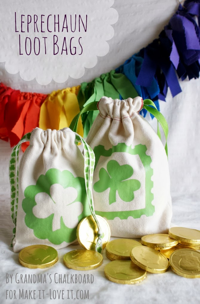 DIY Leprechaun Loot Bags …for St Patrick's Day (or any other occasion)