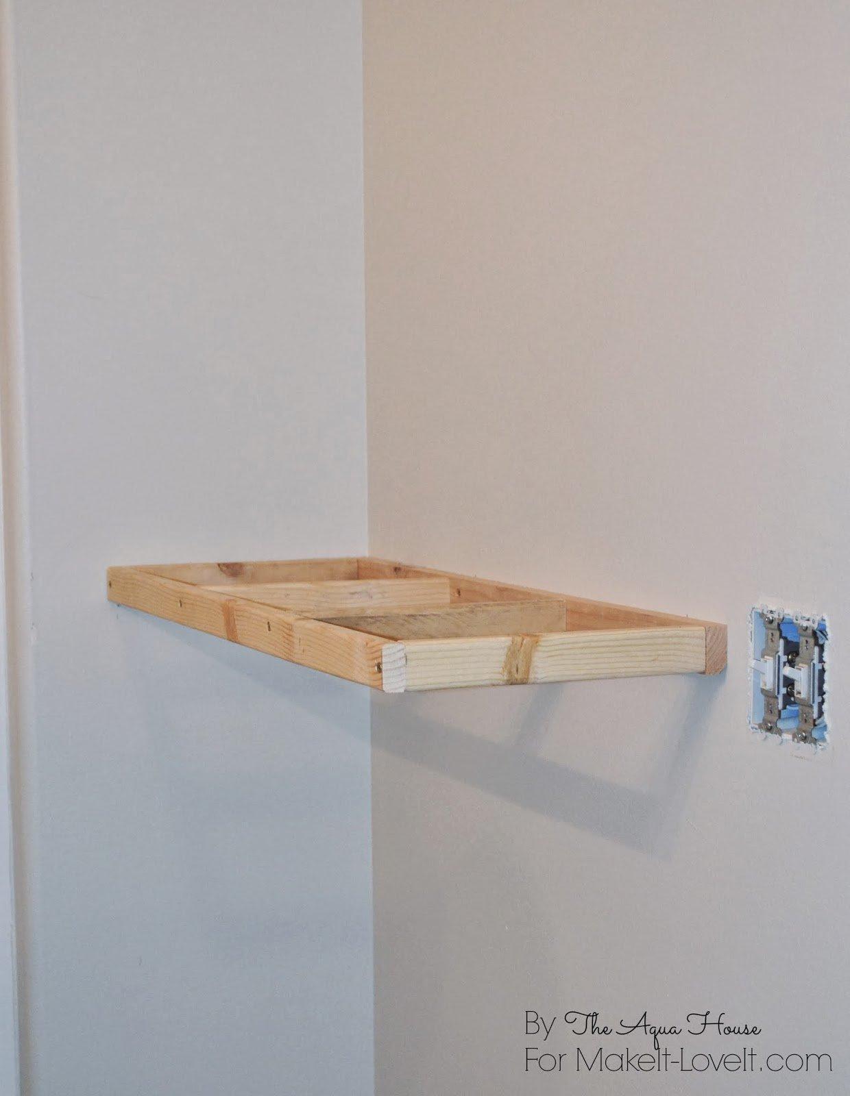 DIY Floating Shelves......a great storage solution!