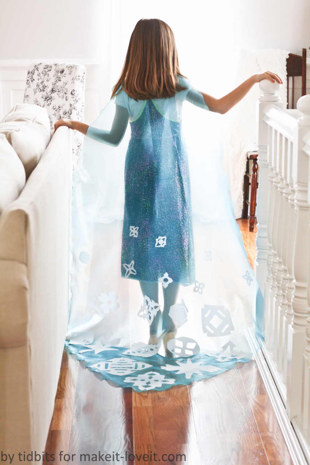 Do-It-Together Elsa Cape 6