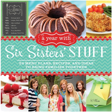 """A Year With Six Sisters' Stuff"" Cookbook GIVEAWAY!"