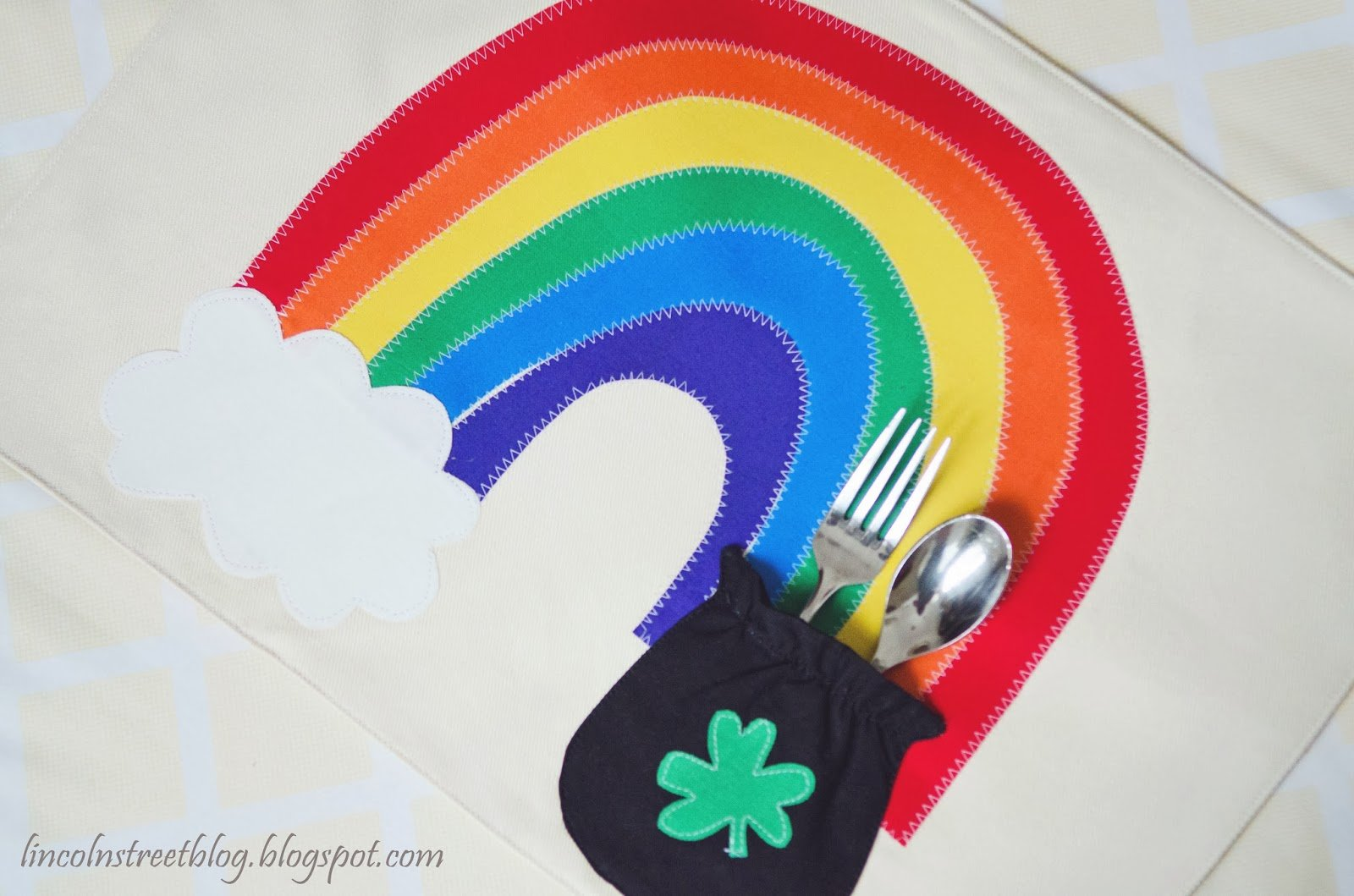 Pot Of Gold Placemats --- Make It and Love It