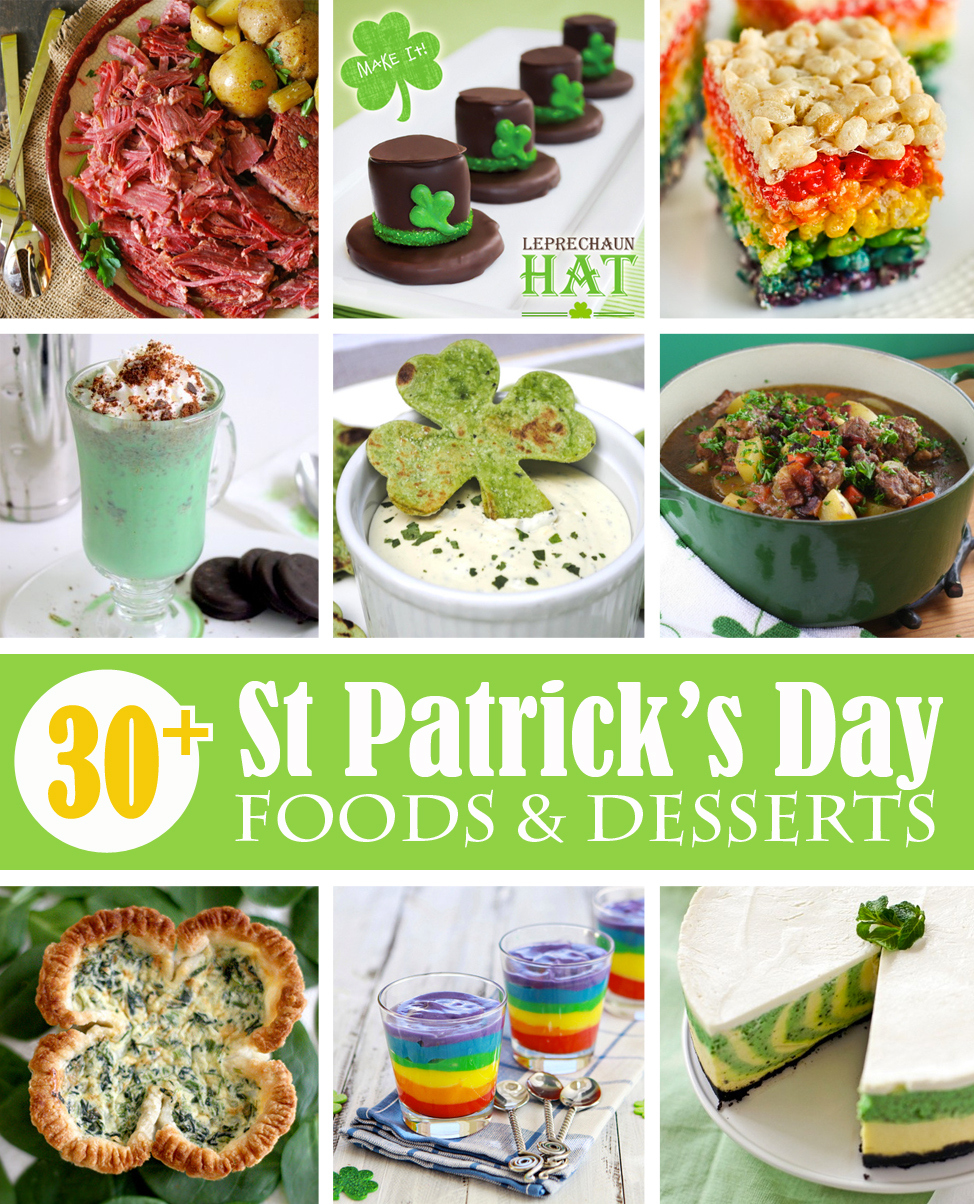 30+ St Patrick's Day food and dessert ideas --- Make It and Love It