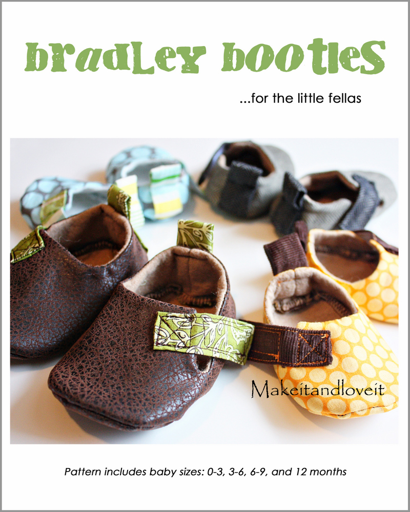 1 bradley shoe pattern
