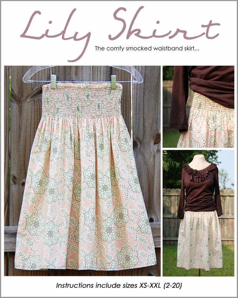 1 lily skirt pattern