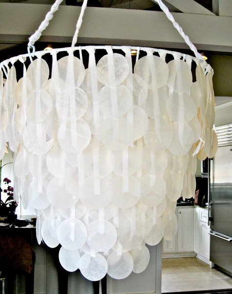 Vintage Painting Old Chandeliers by Make It and Love It