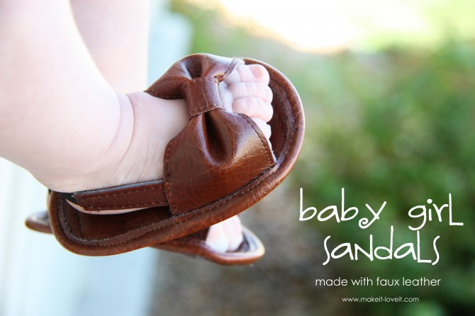 12 baby girl sandals